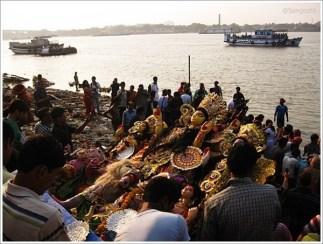 Durga Puja Immersion Kolkata Outram Ghat