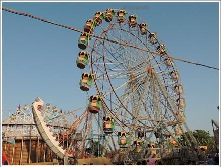 Pushkar Mela Fair 2014 Rajasthan Giant Wheel