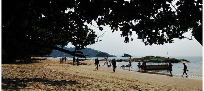 Quiet Haven ~ Om Beach Resort in Gokarna