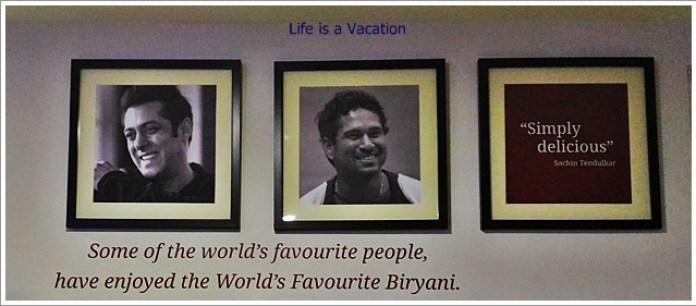 Paradise Biryani in Bangalore