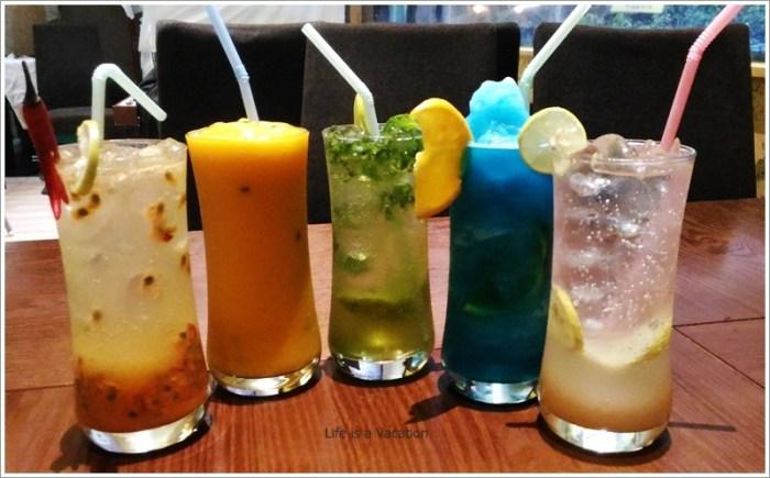 Fattoush Restaurant Mocktails