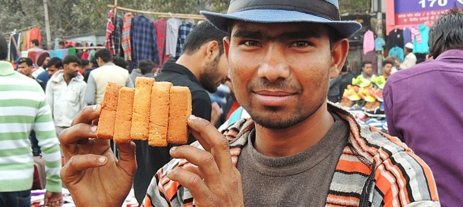 Street Food from the lanes of Jama Masjid; Delhi