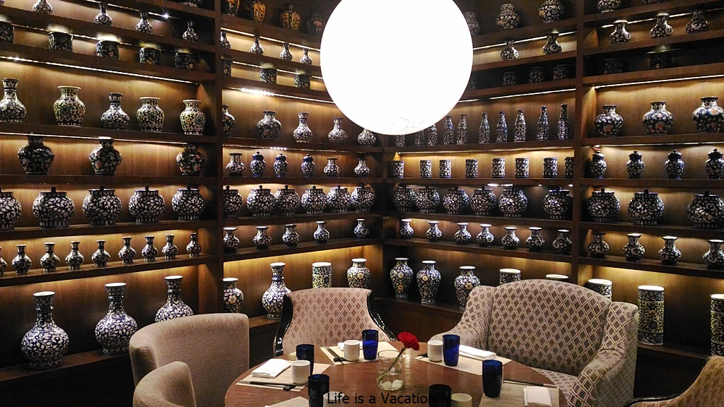 "Inside the ""Lantern"" in Ritz Carlton, Bangalore"