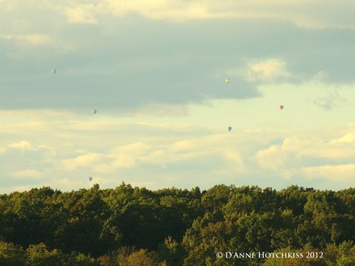 My Hot Air Balloon Ride, LifeIsHOTBlog, Brad W. Smith photographer, view of western NJ countryside from the ballon