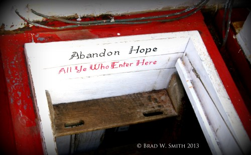 sign painted on the Victory Chimes tri-mast wood schooner hatch