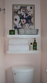 Save the Pink Tile  1970s Small Bathroom Makeover ...