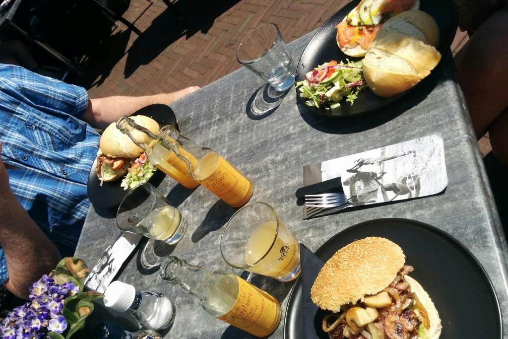 2016 Juli - Lunch Middelburg
