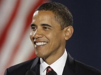 Barack Obama Grant Park