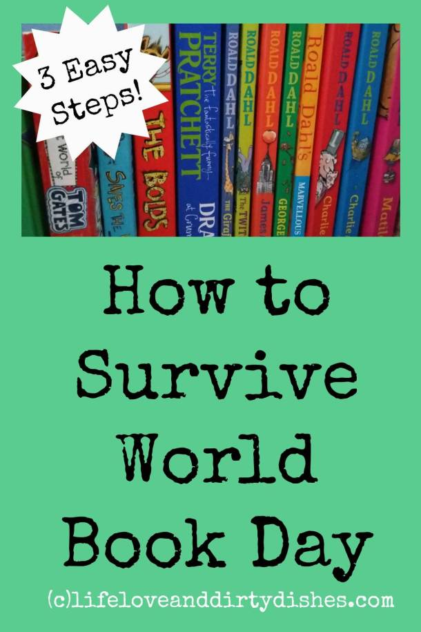 Surviving World Book Day - A Cunning plan in three easy steps...