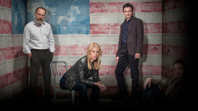 Scrrenshot of Netflix series Homelands with Clare Danes