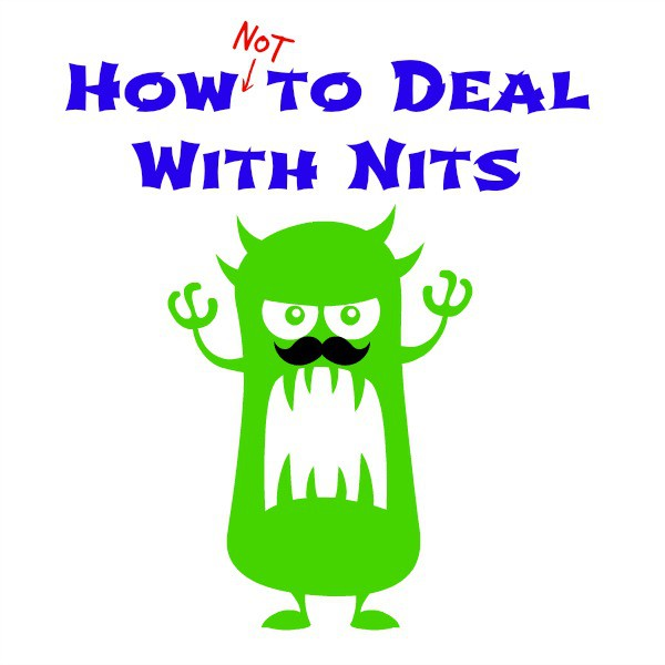 How Not to deal with nits heading with cartonn critter