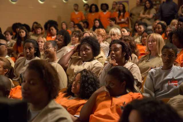 Screenshot of Netflix series Orange is the New Black