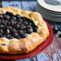 Rustic Cherry Tart - Life, Love, and Good Food