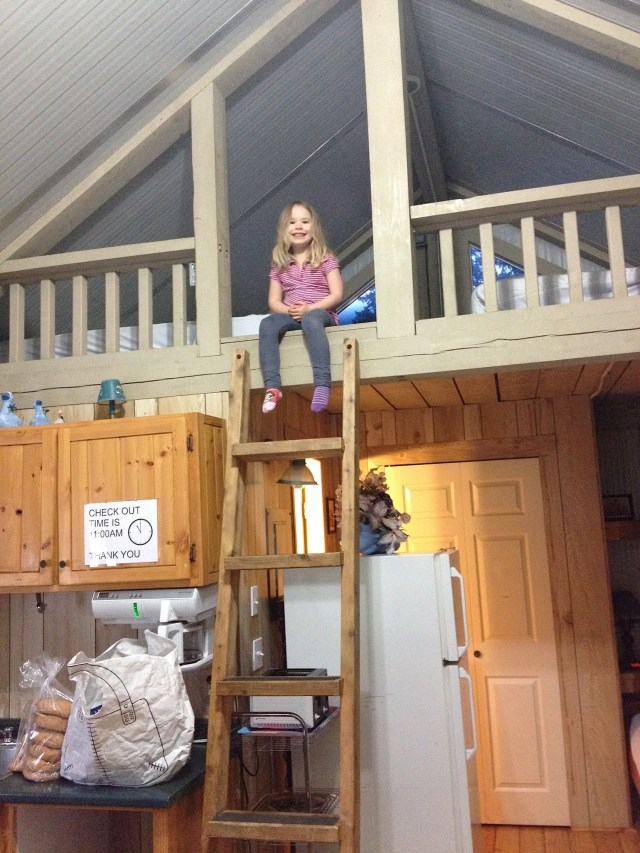 Adri loved the sleeping loft