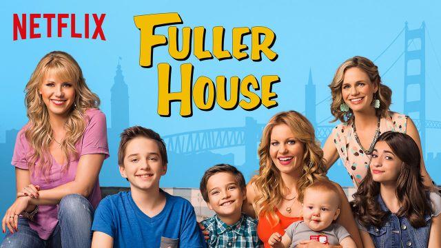 open the door to important conversations - Fuller House on Netflix