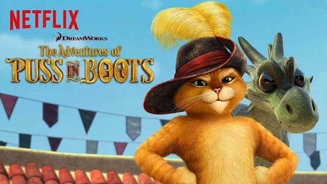 Puss in Boots on Netflix