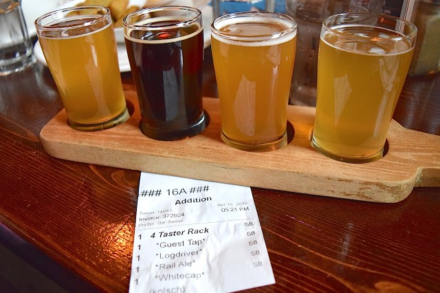 Weekend getaway - howe sound brewing