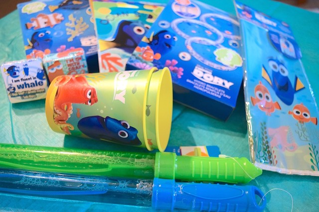 Finding Dory Goody Bags and Activities
