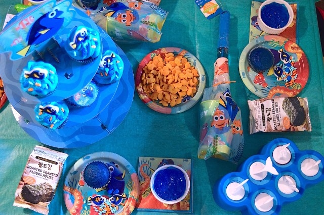 Finding Dory Table