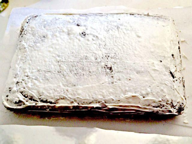 Cake Tutorial: Movie Themed Birthday Cake Step 2