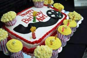 Movie Themed Birthday Party Cake