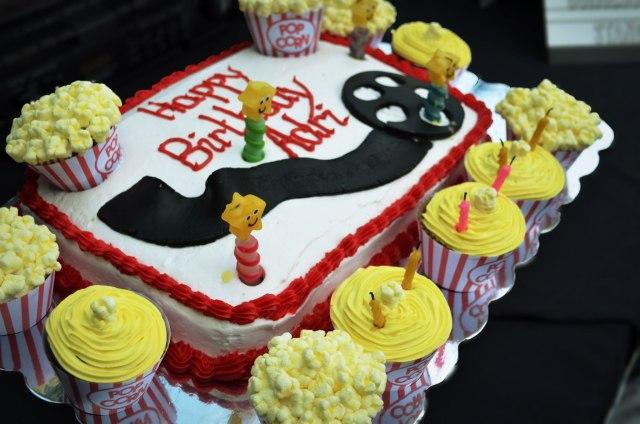 Movie Themed Birthday Party Cake