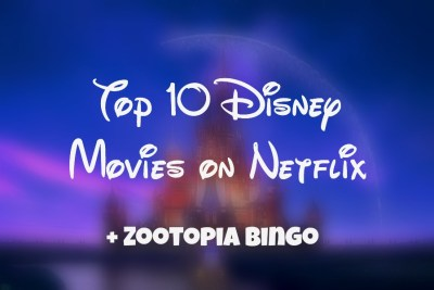 Disney Movies on Netflix
