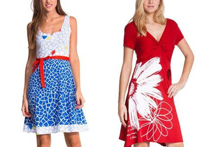 Top 10 Desigual Dresses For Spring