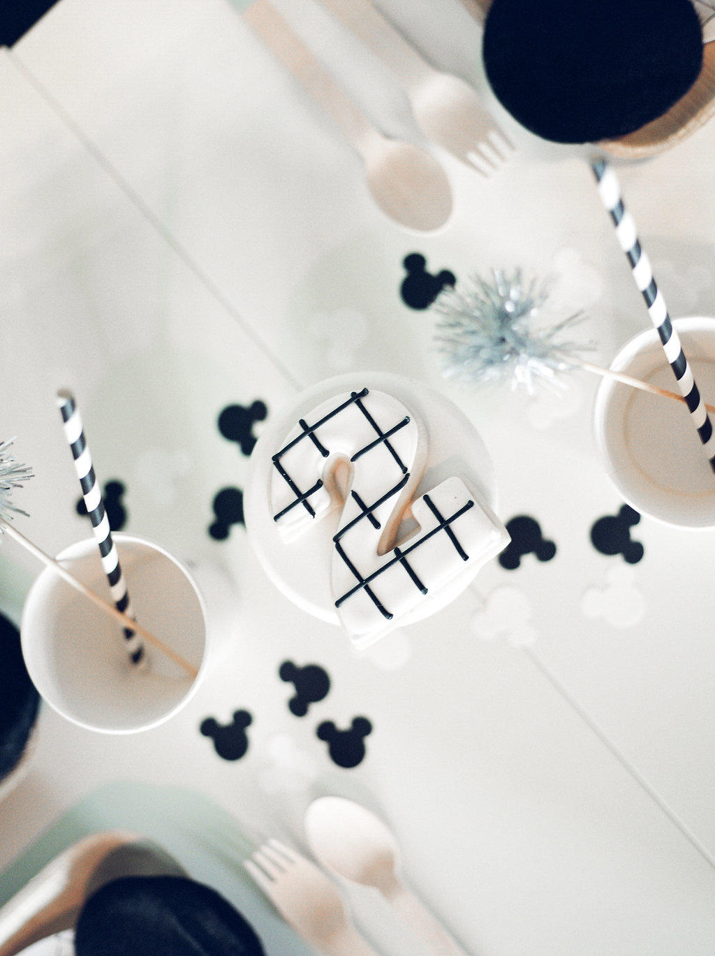 Ikea Forks Asher's Modern Mickey Birthday Party | Life Lutzurious