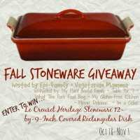 Le Creuset Heritage Stoneware {Giveaway}