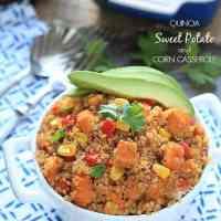Quinoa, Sweet Potato and Corn Casserole + ATK Slow Cooker Cookbook GIVEAWAY!