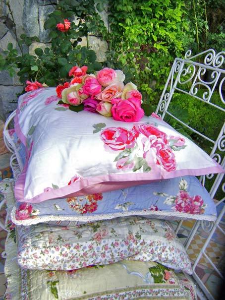 декорирование дачи садовыми цветами