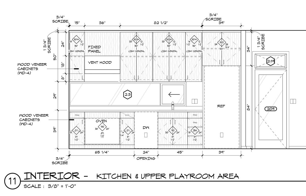 Kitchen Cabinet Elevation Graphic Standards For Architectural Cabinetry Life Of An
