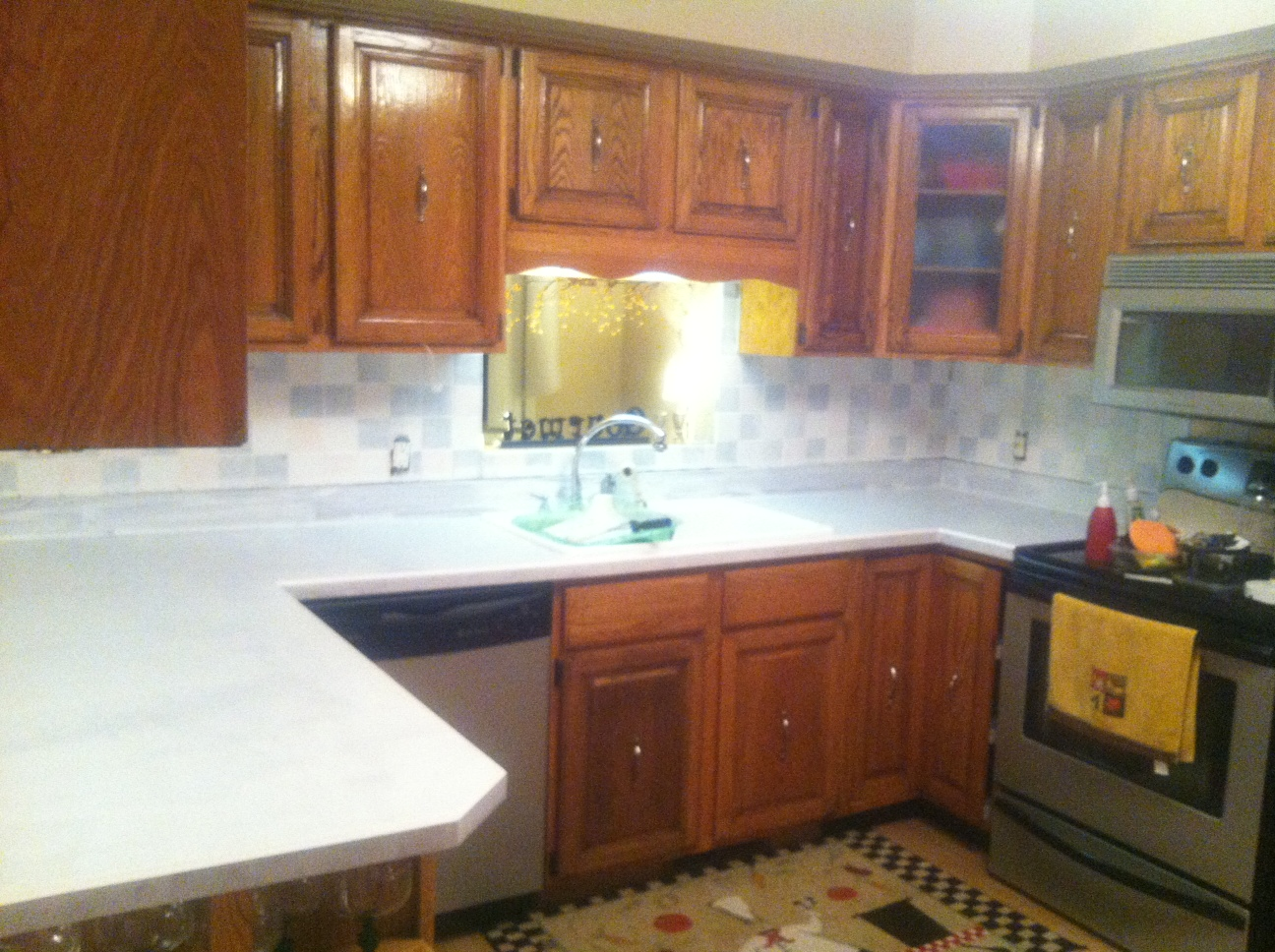 finally the kitchen countertop post best kitchen countertop material kitchen2