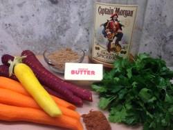 Indoor Captain Morgan Pumpkin Captain Morgan Silver Carbs Spiced Rum Glaze Life Rum Glazed Carrots Ingredients Roasted Carrots Party Carbs