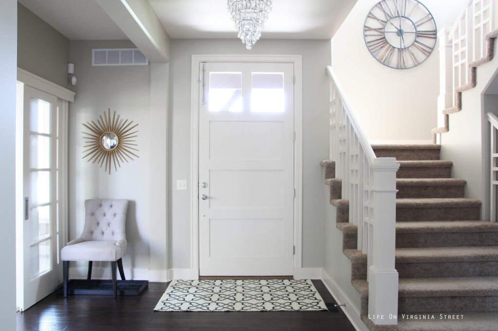 Gray Painted Doors Simple Chic Design Life On Virginia