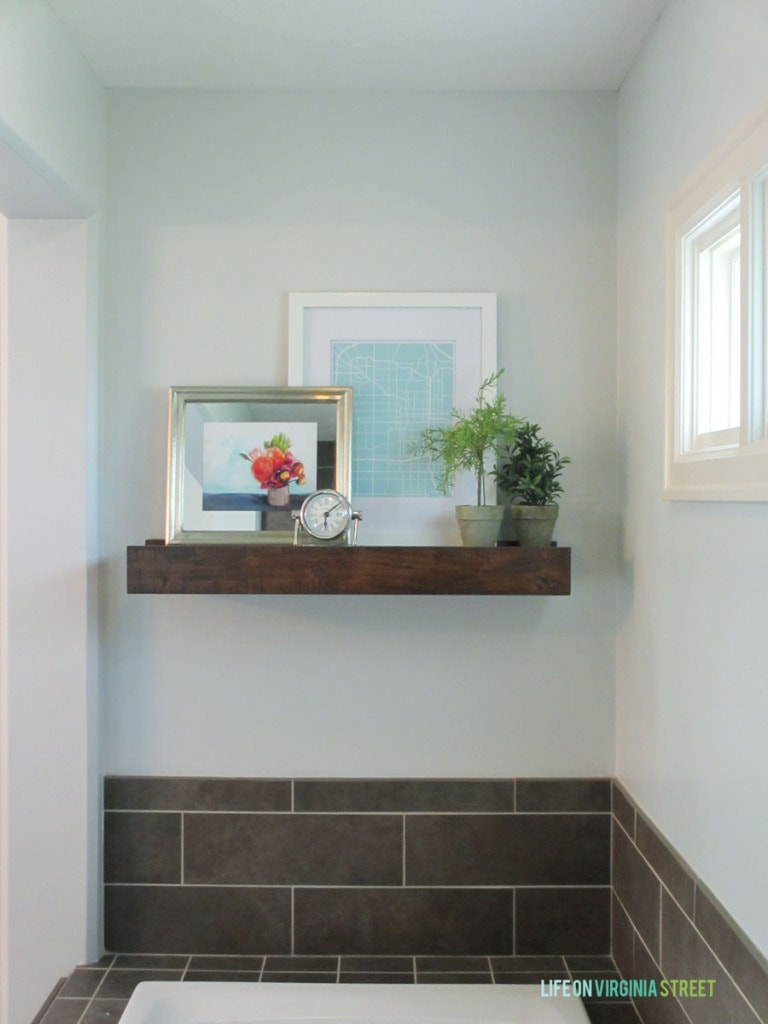 Fullsize Of Wood Shelf For Bathroom