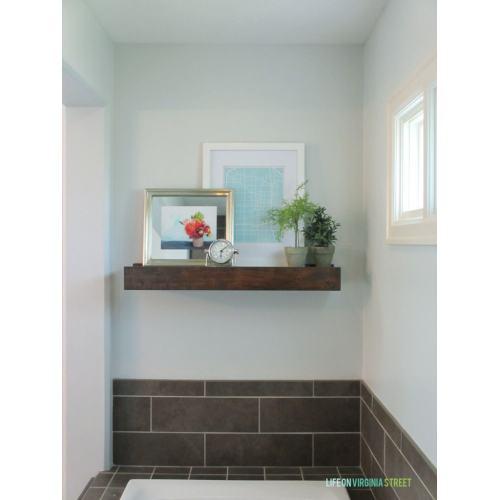 Medium Crop Of Wood Shelf For Bathroom