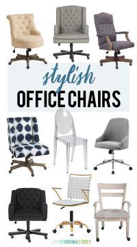 Stylish Office Chairs - Life On Virginia Street