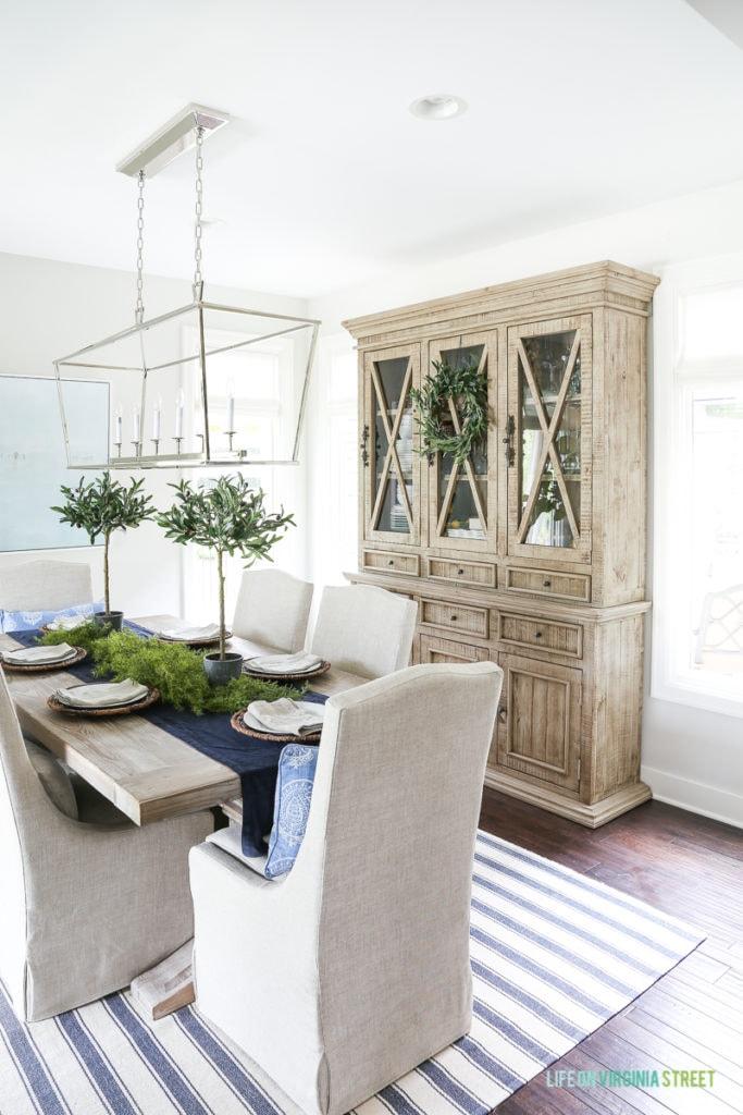 Reclaimed Wood Dining Room Hutch Alternatives - Life On Virginia - living room hutch