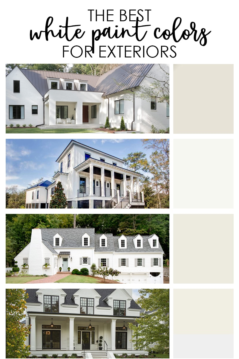 White Home The Best Exterior White Paint Colors Life On Virginia Street