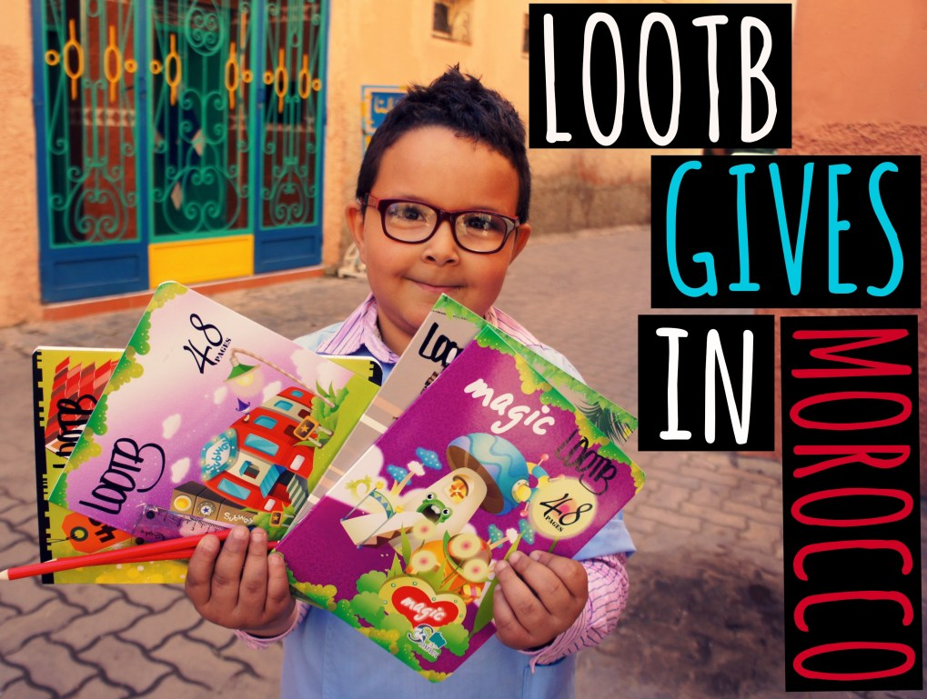 Life Out of the Box: LOOTB gives in morocco