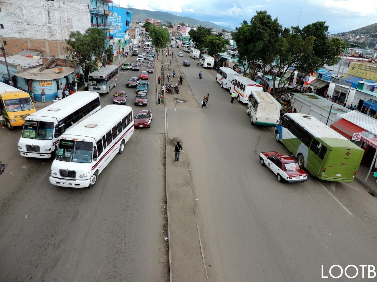 Autobús de noche a Guatemala