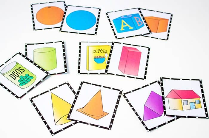 3D Shapes Free Printable Activities - Life Over Cs3d shapes free