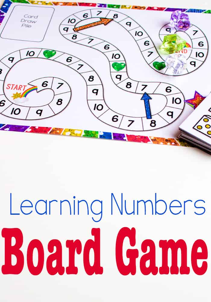 Free Printable Counting Game Numbers 6-10 - Life Over Cs