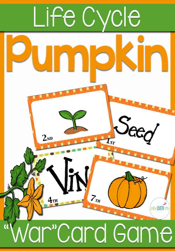 Pumpkin Sequencing Game for Fall - Life Over Cs