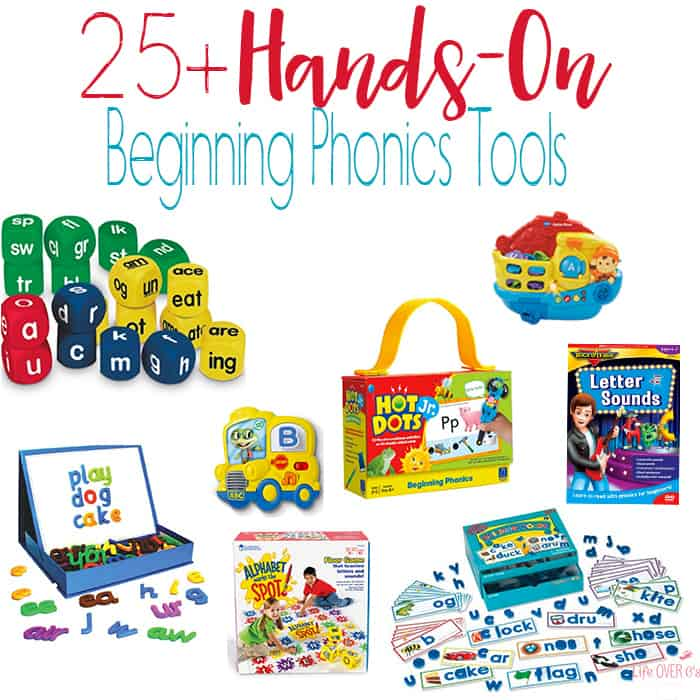 25 Tools Your Kids Will Love for Learning Letter Sounds - Life Over Cs