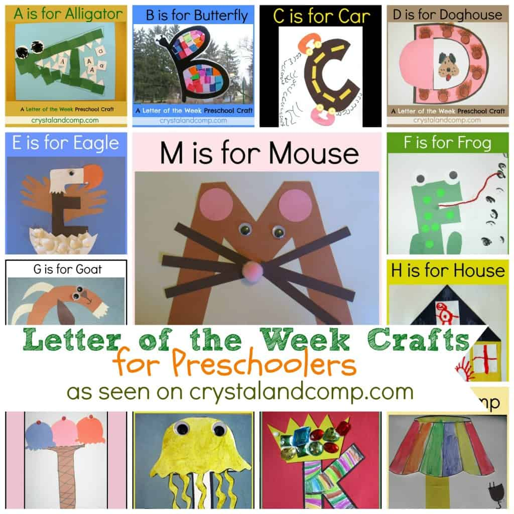 Art And Craft For Preschool Fun And Easy Alphabet Crafts For Kids Life Over Cs