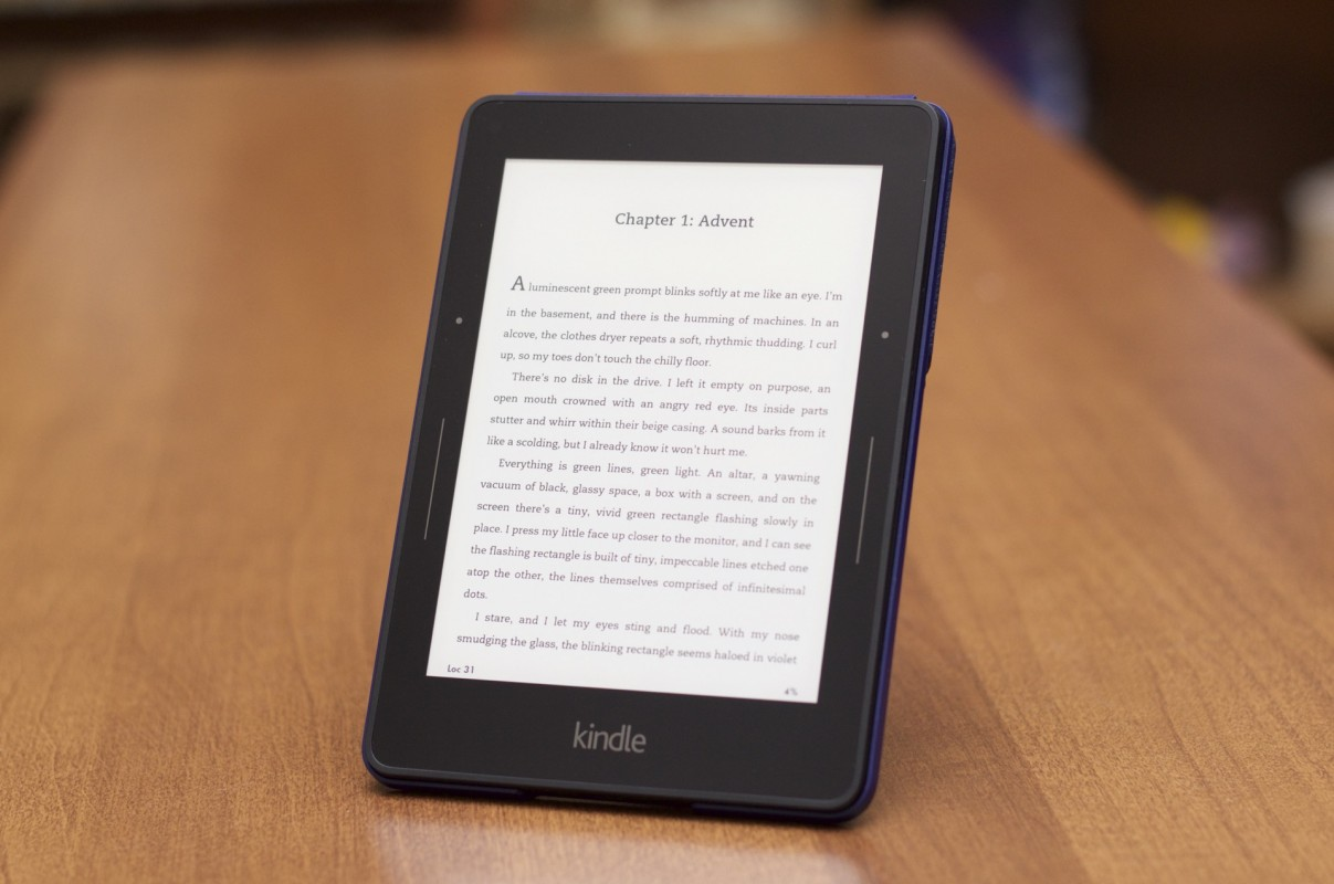 Nuovo Kindle Voyage