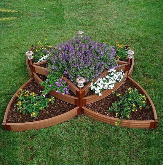Unique Raised Bed Design